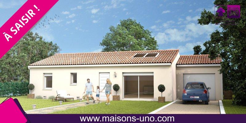 Maisons du constructeur MAISONS UNO • 81 m² • SMARVES