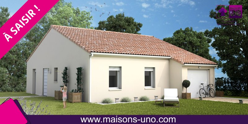 Maisons du constructeur MAISONS UNO • 74 m² • SAINT BENOIT