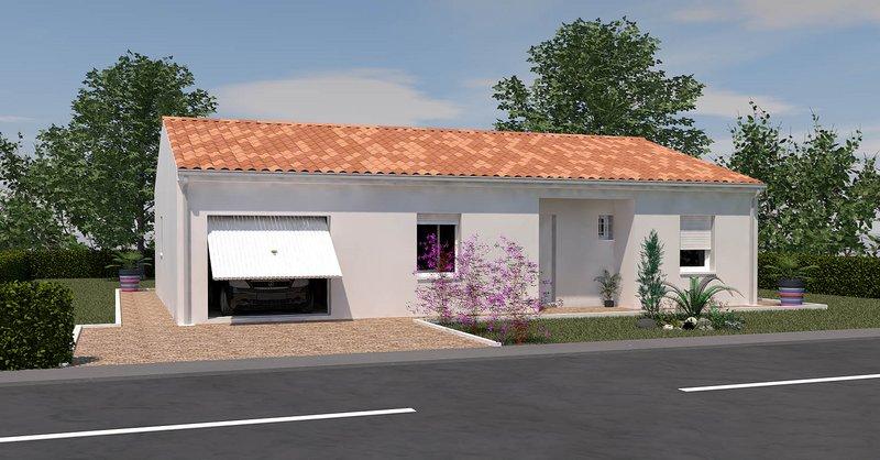 Maisons du constructeur MAISONS UNO • 86 m² • COULOMBIERS