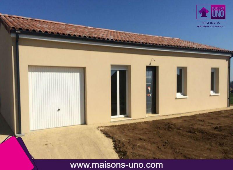 Maisons du constructeur MAISONS UNO • 82 m² • SMARVES