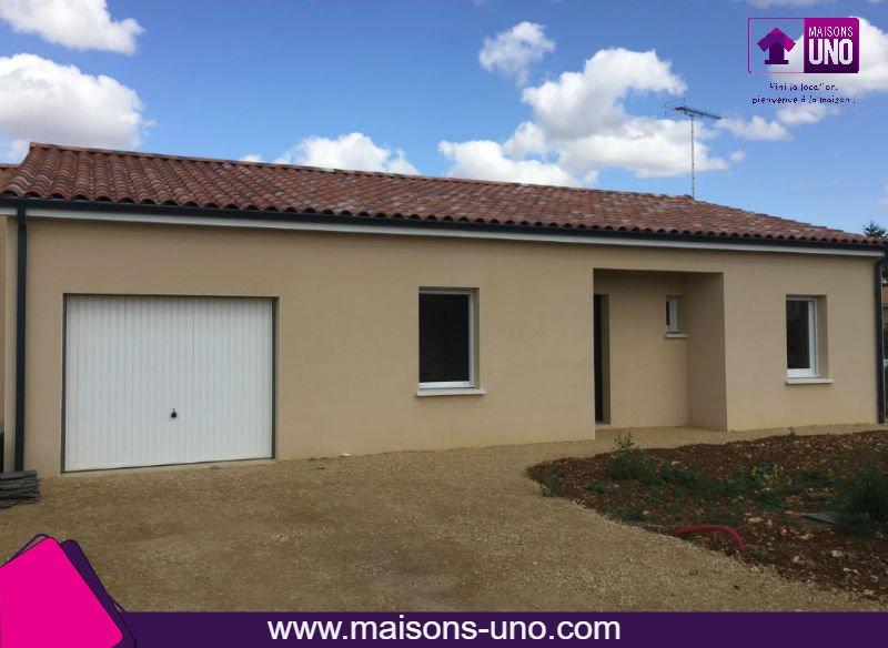 Maisons du constructeur MAISONS UNO • 86 m² • SAINT JULIEN L'ARS