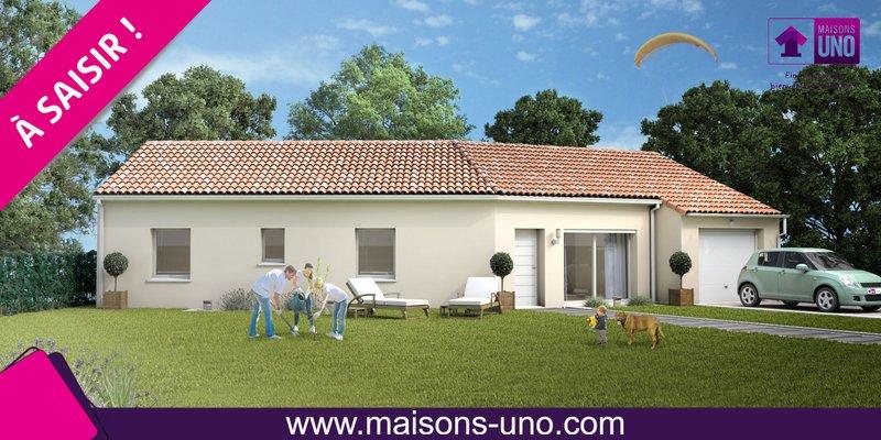 Maisons du constructeur MAISONS UNO • 81 m² • LA CRECHE