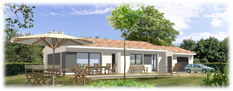 Maisons + Terrains du constructeur MAISONS BLANCHE •  m² • VIDAUBAN