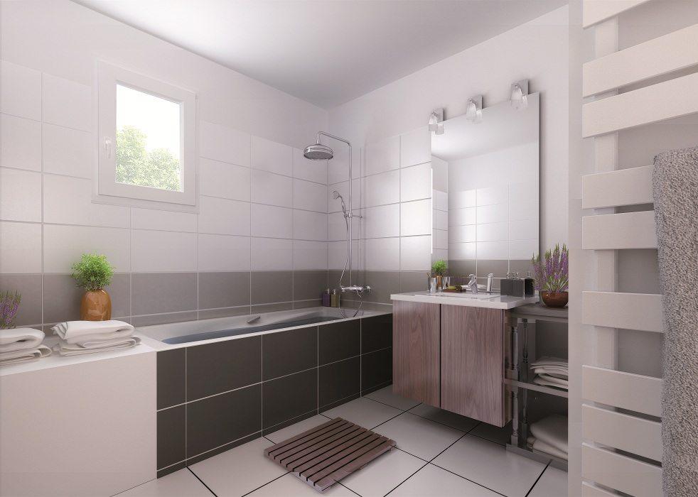 Maisons + Terrains du constructeur MAISON FAMILIALE MOISELLES/BALLER EN F • 98 m² • BREGY