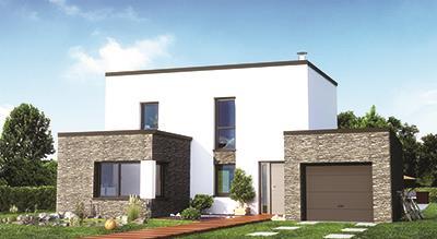 Maisons + Terrains du constructeur MAISON FAMILIALE MOISELLES/BALLER EN F • 127 m² • CHAUMONTEL