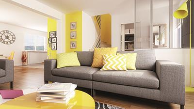 Maisons + Terrains du constructeur MAISON FAMILIALE MOISELLES/BALLER EN F • 118 m² • SAINT WITZ