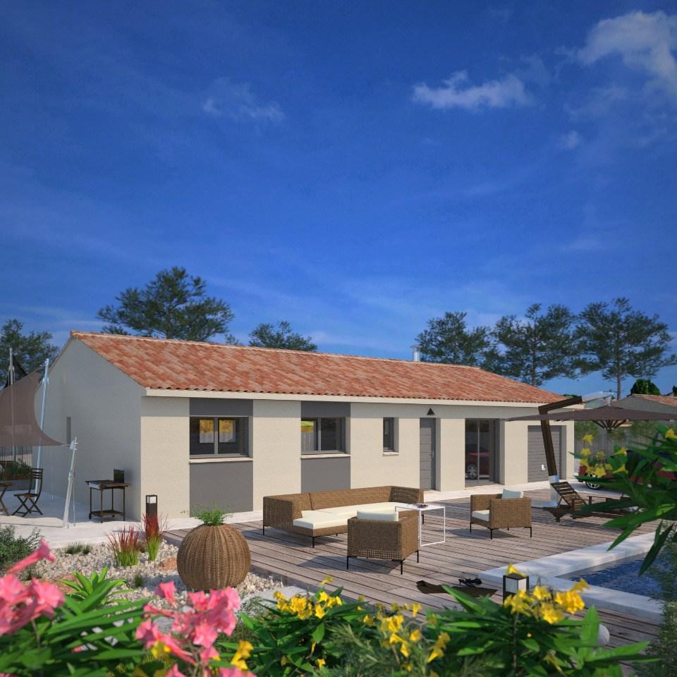 Maisons + Terrains du constructeur MAISONS FRANCE CONFORT • 103 m² • GEMIL
