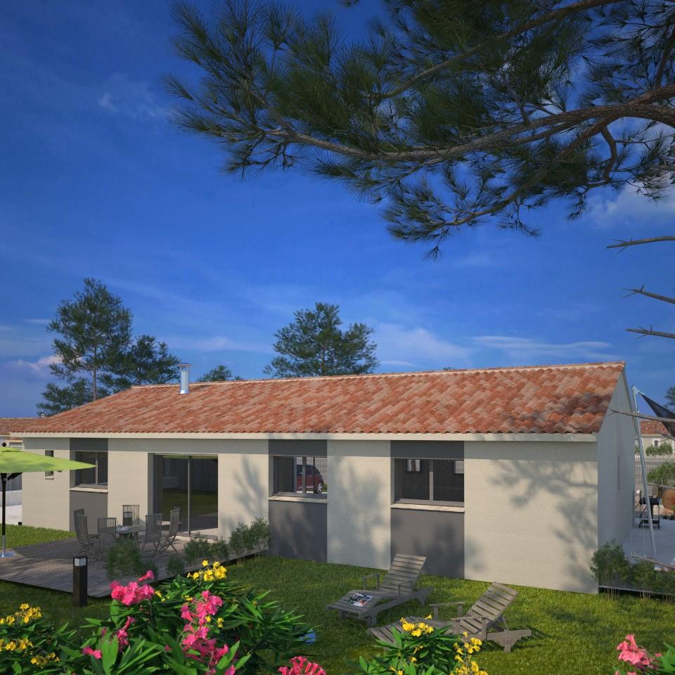 Maisons + Terrains du constructeur MAISONS FRANCE CONFORT • 84 m² • SAINT GENIES BELLEVUE