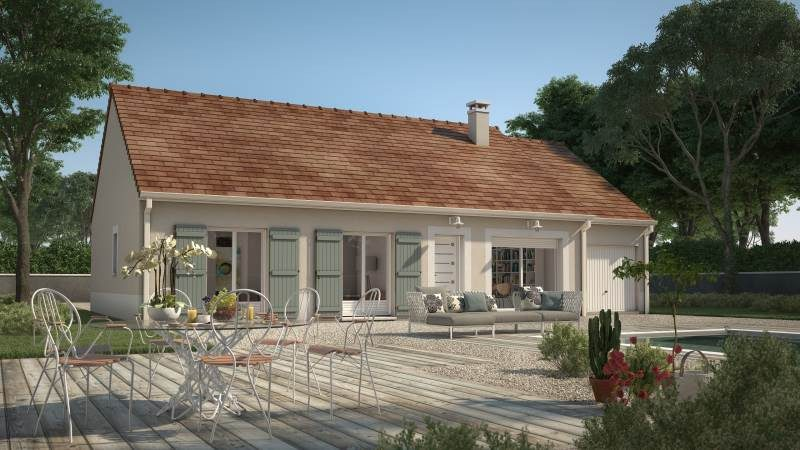 Maisons + Terrains du constructeur MAISONS FRANCE CONFORT • 92 m² • LHERAULE