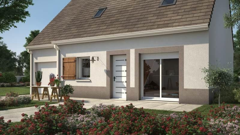 Maisons + Terrains du constructeur MAISONS FRANCE CONFORT • 76 m² • ABBECOURT
