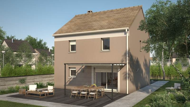 Maisons + Terrains du constructeur MAISONS FRANCE CONFORT • 93 m² • SIGNY SIGNETS