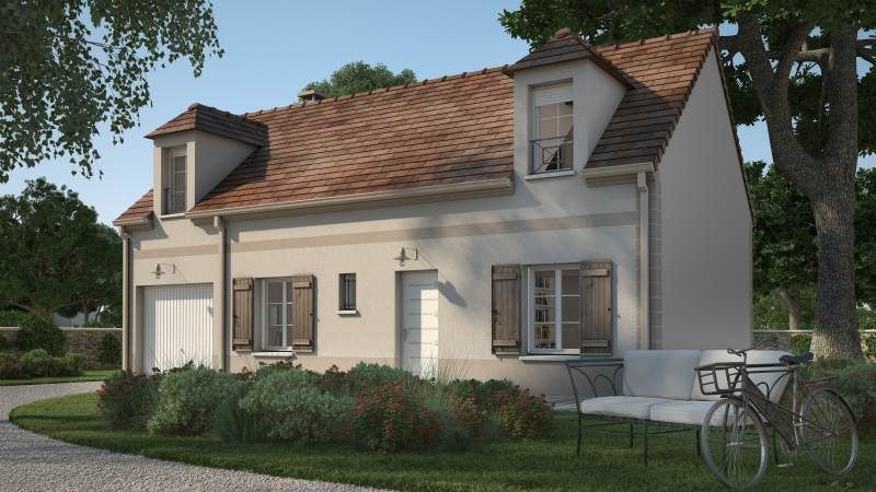 Maisons + Terrains du constructeur MAISONS FRANCE CONFORT • 90 m² • SIGNY SIGNETS