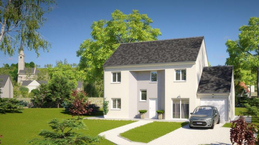 Maisons du constructeur MAISONS PIERRE PARIS • 133 m² • SAINTE GENEVIEVE DES BOIS