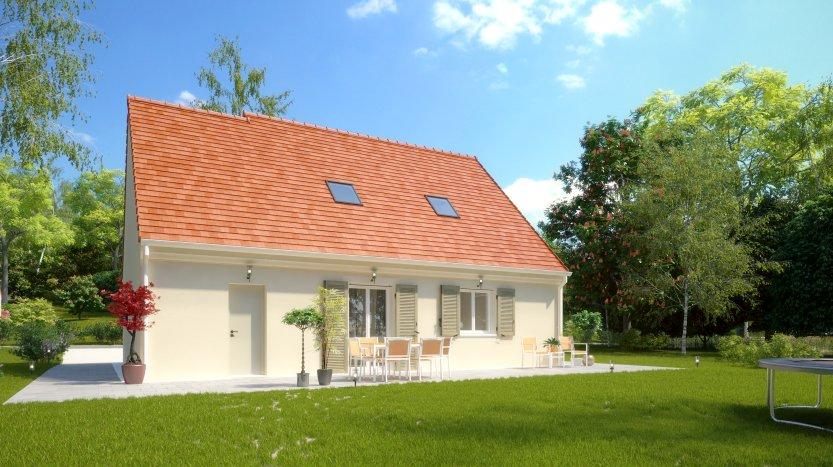 Maisons du constructeur MAISONS PIERRE PARIS • 89 m² • MONTLHERY