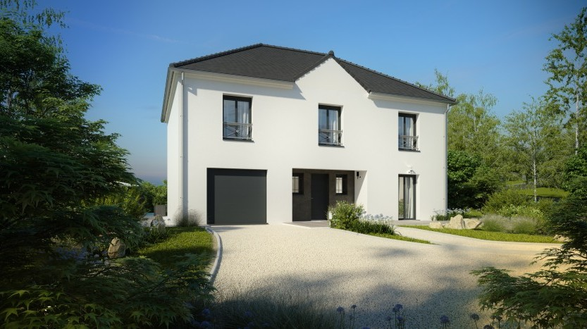 Maisons du constructeur MAISONS PIERRE PARIS • 151 m² • SANTENY