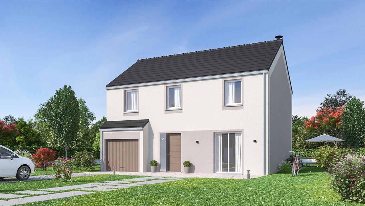 Maisons + Terrains du constructeur MAISONS PHENIX • 116 m² • SEPT SORTS