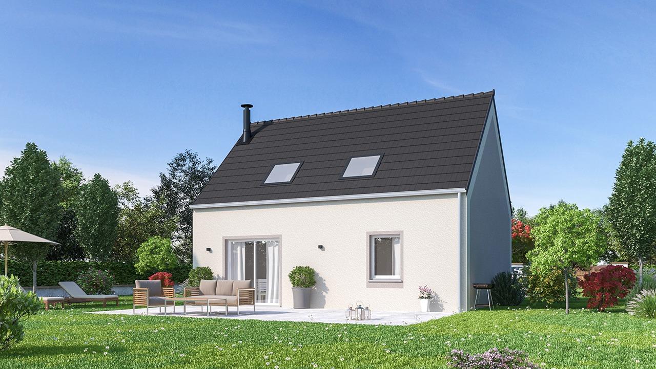 Maisons + Terrains du constructeur MAISONS PHENIX • 84 m² • LA HOUSSAYE EN BRIE