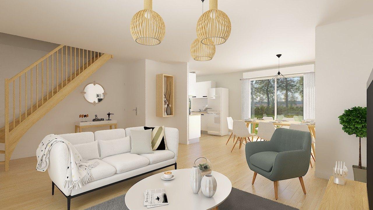 Maisons + Terrains du constructeur MAISONS PHENIX • 99 m² • QUINCY VOISINS