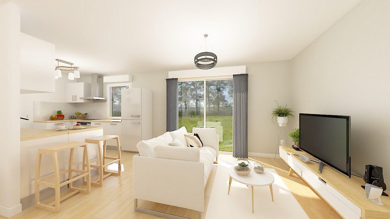 Maisons + Terrains du constructeur MAISONS PHENIX • 69 m² • MORTCERF