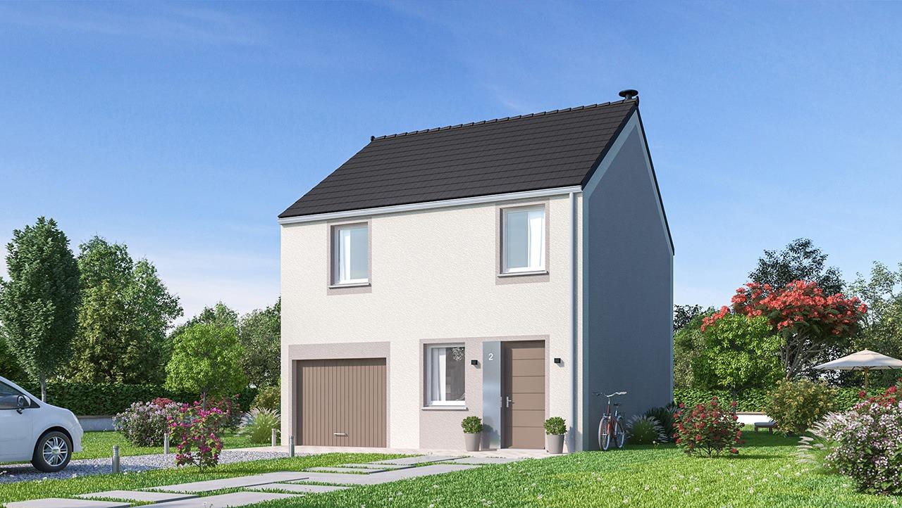 Maisons + Terrains du constructeur MAISONS PHENIX • 91 m² • LIVERDY EN BRIE