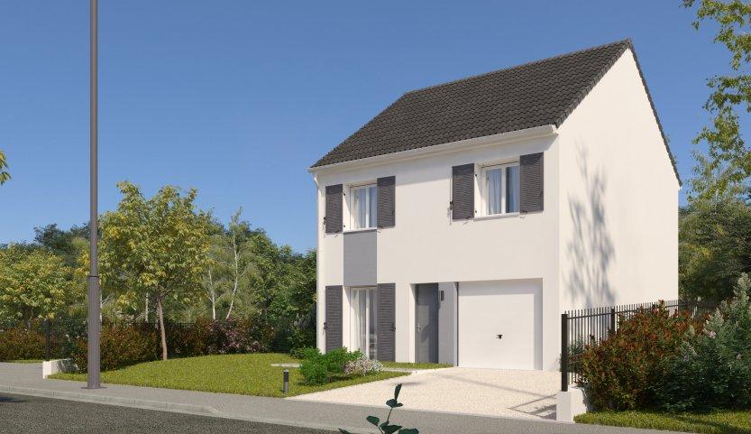 Maisons du constructeur MAISONS PIERRE AULNAY 3 • 87 m² • BEAUMONT SUR OISE