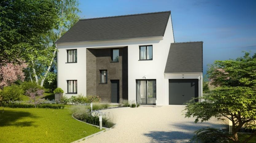 Maisons du constructeur MAISONS PIERRE AULNAY 3 • 133 m² • BEAUMONT SUR OISE