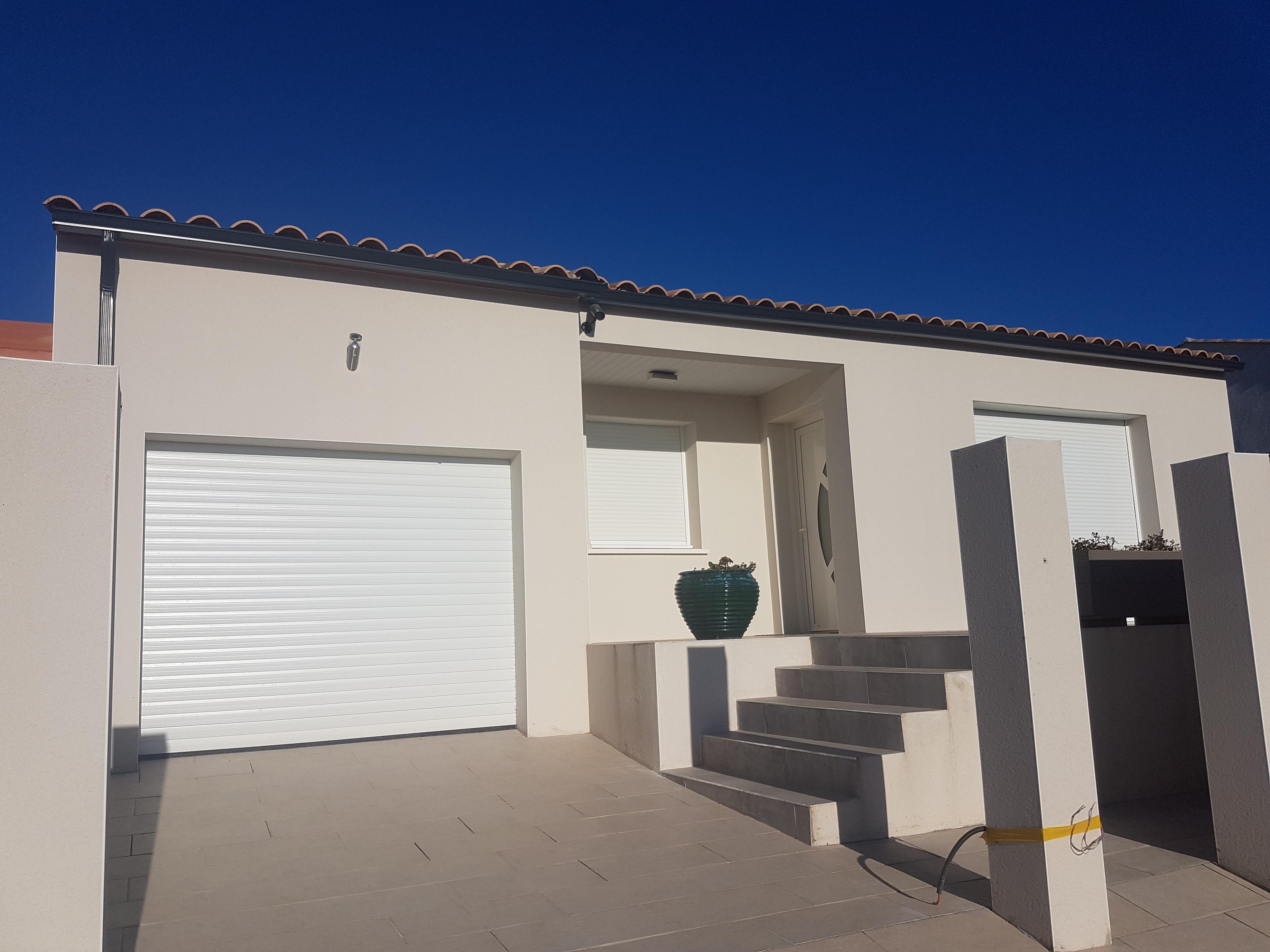 Maisons + Terrains du constructeur MAISONS FRANCE BATIMENT • 94 m² • NISSAN LEZ ENSERUNE