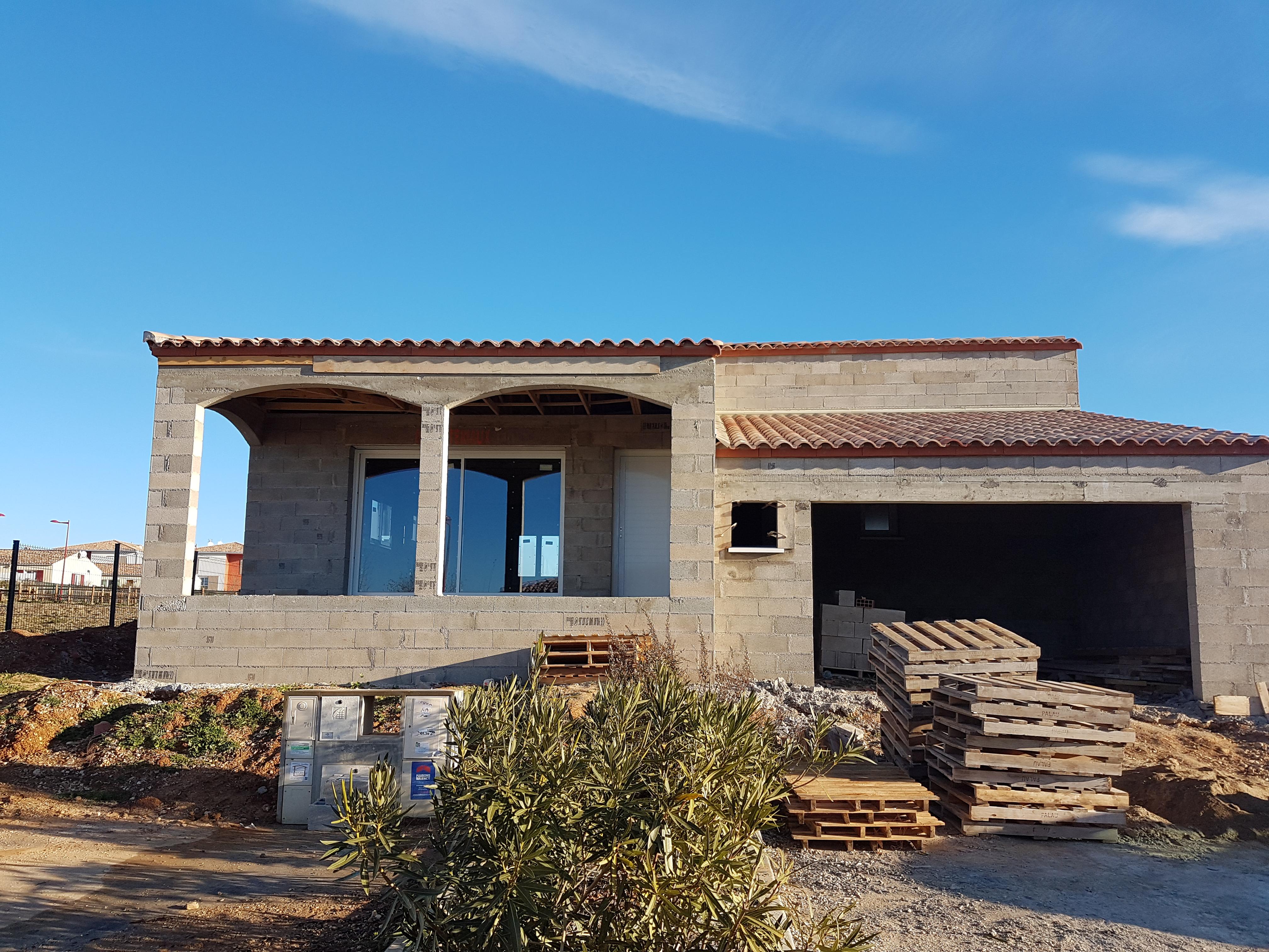 Maisons + Terrains du constructeur MAISONS FRANCE BATIMENT • 80 m² • PEZENAS
