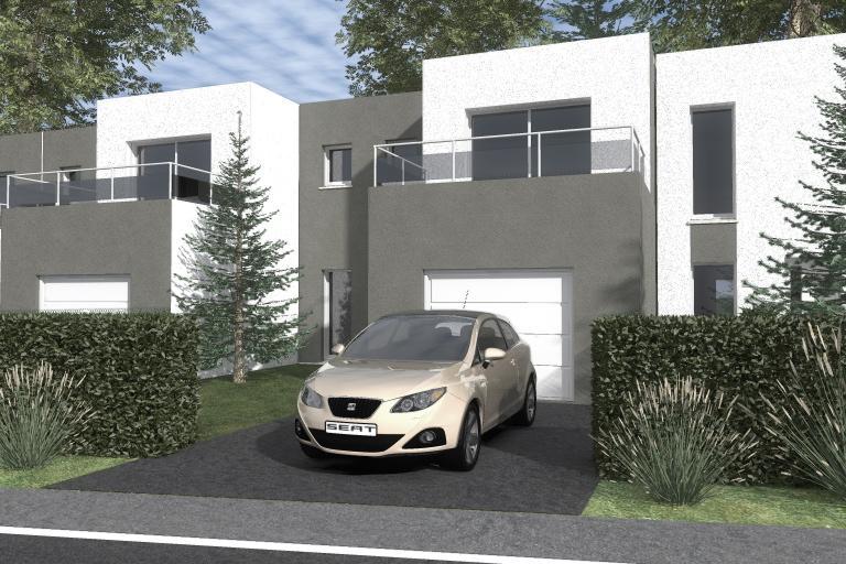 Maisons du constructeur COTRIN 69 • 94 m² • VAULX EN VELIN