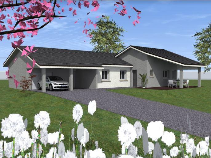 Maisons du constructeur COTRIN 69 • 101 m² • SAINTE FOY L'ARGENTIERE