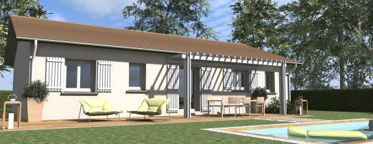 Maisons du constructeur COTRIN 69 • 80 m² • MONTROTTIER