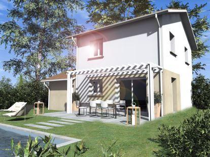 Maisons du constructeur COTRIN 69 • 80 m² • SAINT LAURENT DE CHAMOUSSET