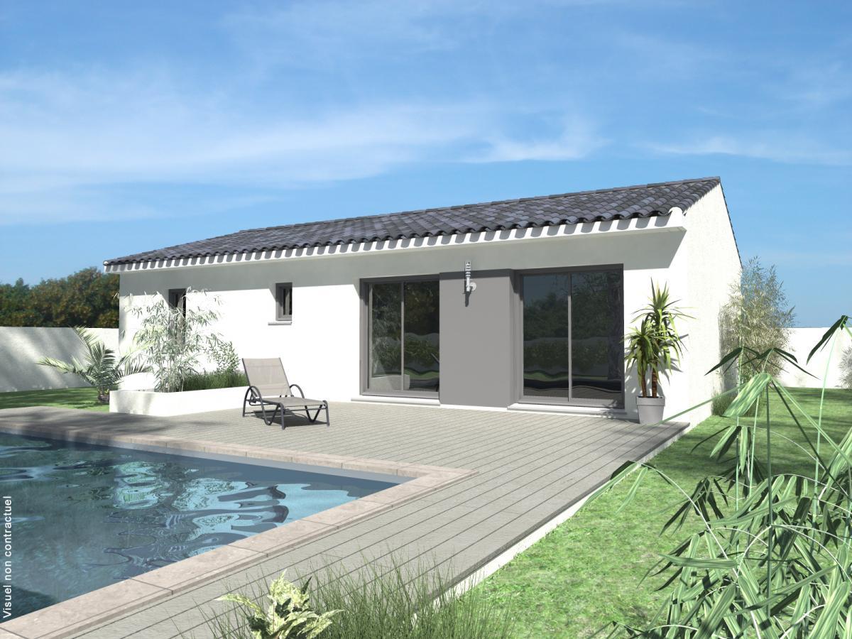 Maisons du constructeur TRADICONFORT 83 • 90 m² • ROQUEBRUNE SUR ARGENS