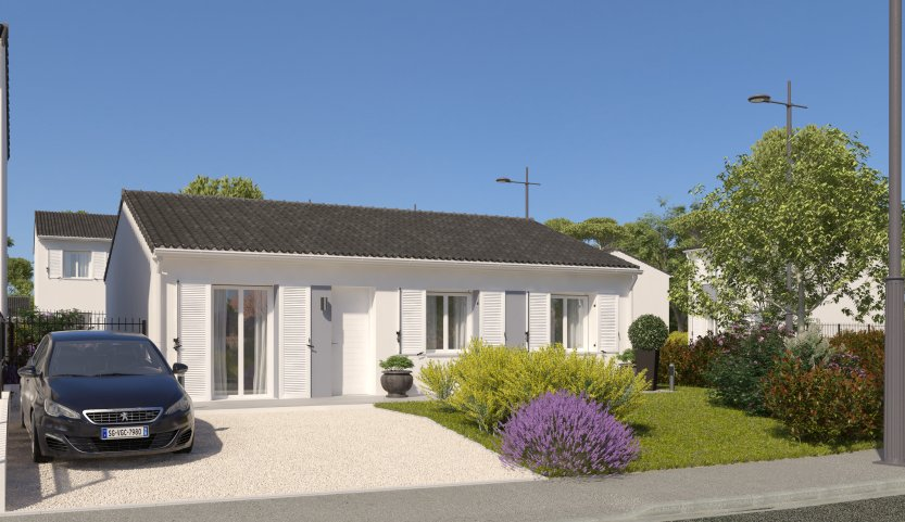 Maisons du constructeur MAISONS PIERRE PESSAC • 76 m² • ORDONNAC