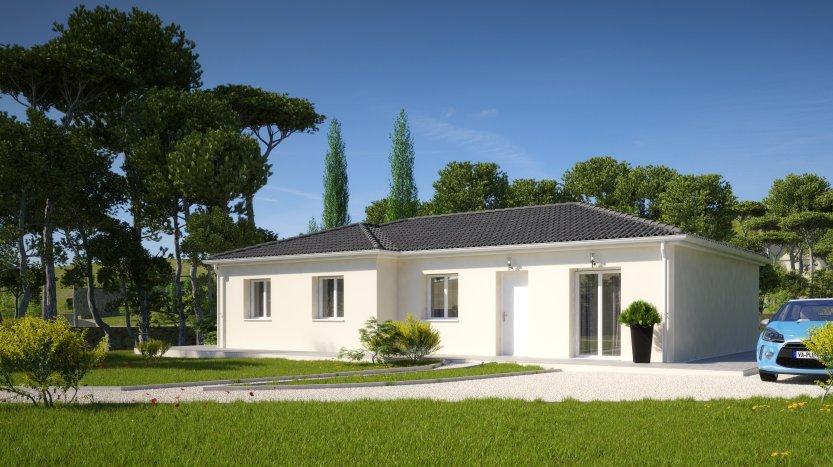 Maisons du constructeur MAISONS PIERRE PESSAC • 102 m² • FARGUES SAINT HILAIRE
