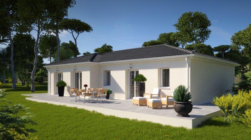 Maisons du constructeur MAISONS PIERRE PESSAC • 102 m² • GAURIAGUET