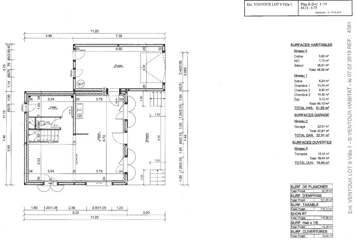 Maisons du constructeur VENTOUX HABITAT • 93 m² • AUBIGNAN