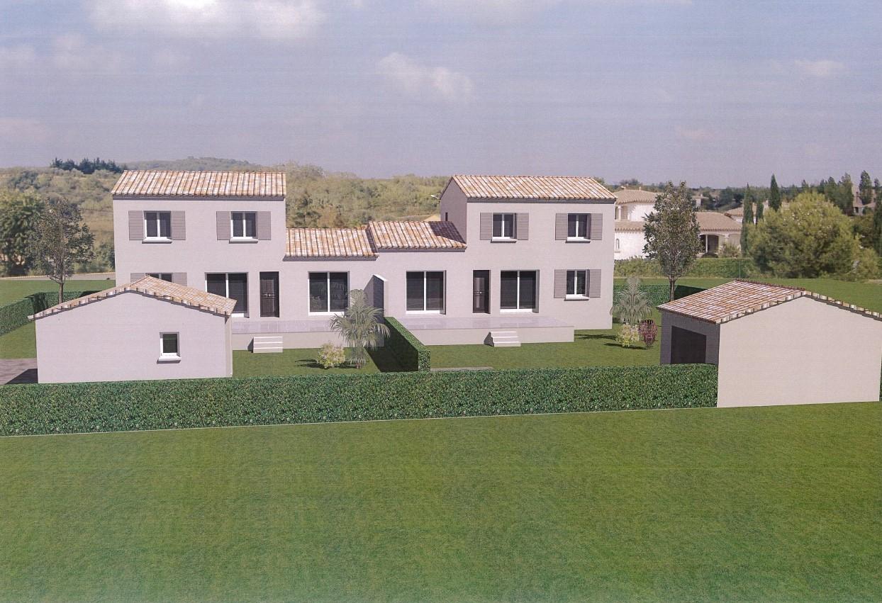 Maisons du constructeur VENTOUX HABITAT • 94 m² • AUBIGNAN