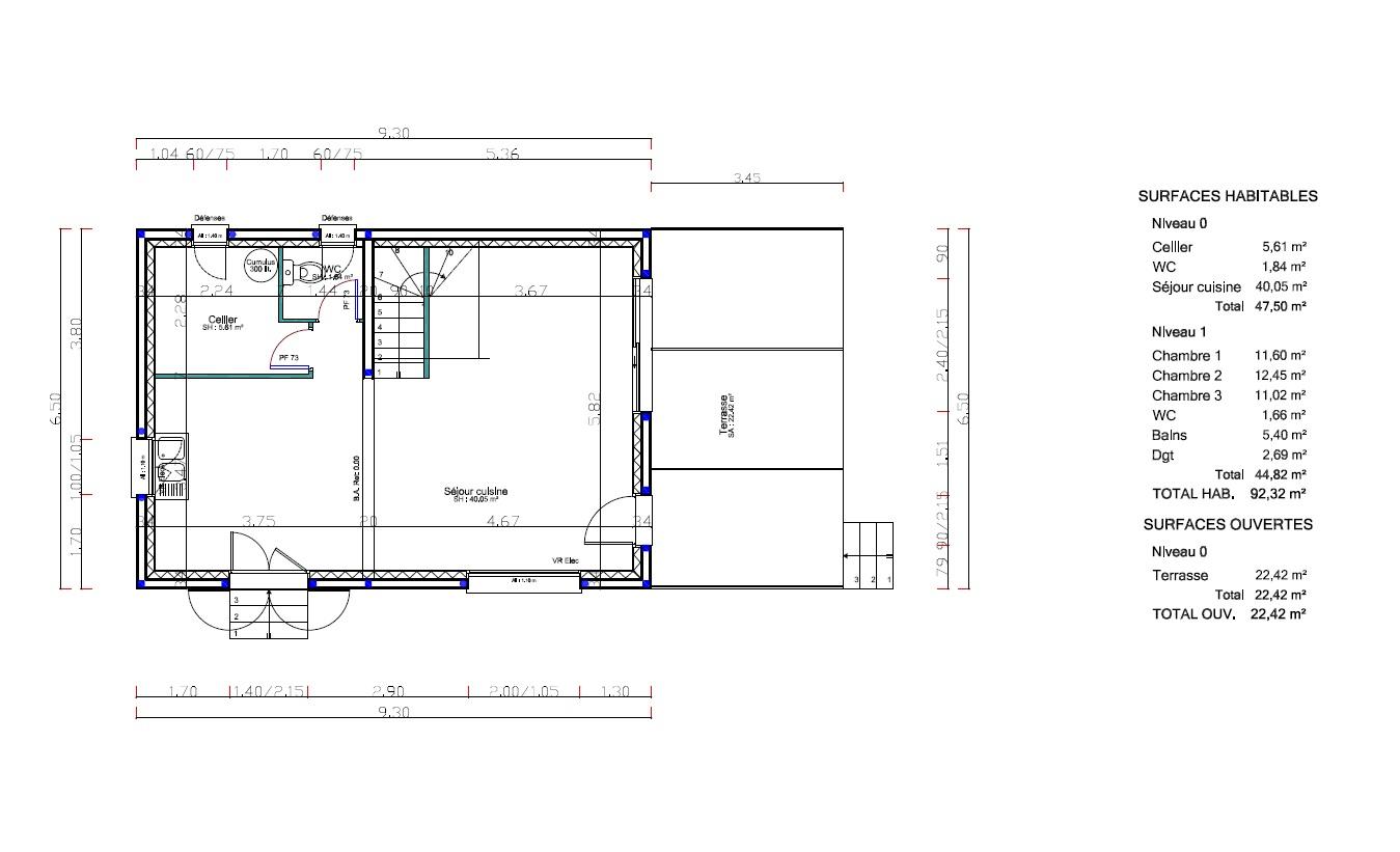 Maisons du constructeur VENTOUX HABITAT • 93 m² • SARRIANS