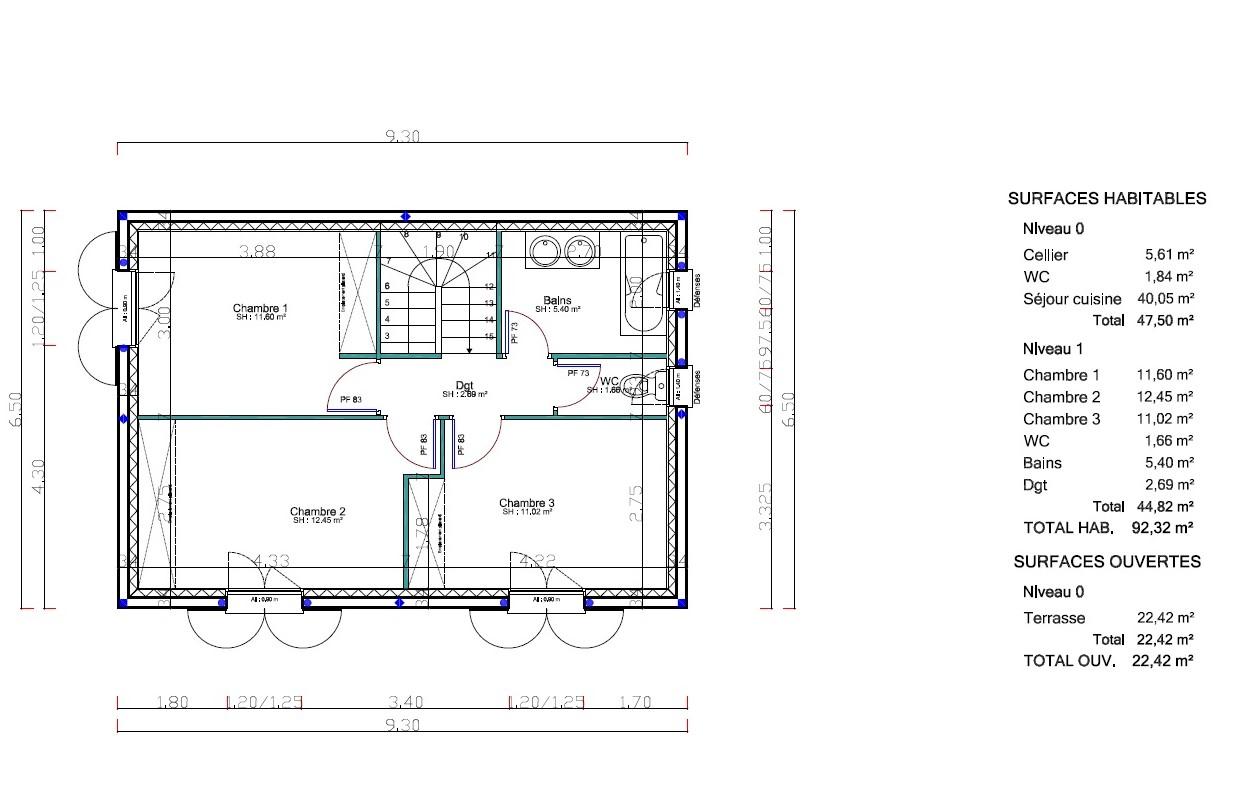 Maisons + Terrains du constructeur VENTOUX HABITAT • 92 m² • CARPENTRAS