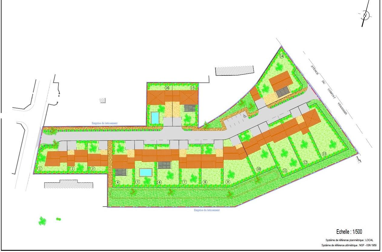 Terrains du constructeur VENTOUX HABITAT • 292 m² • CARPENTRAS