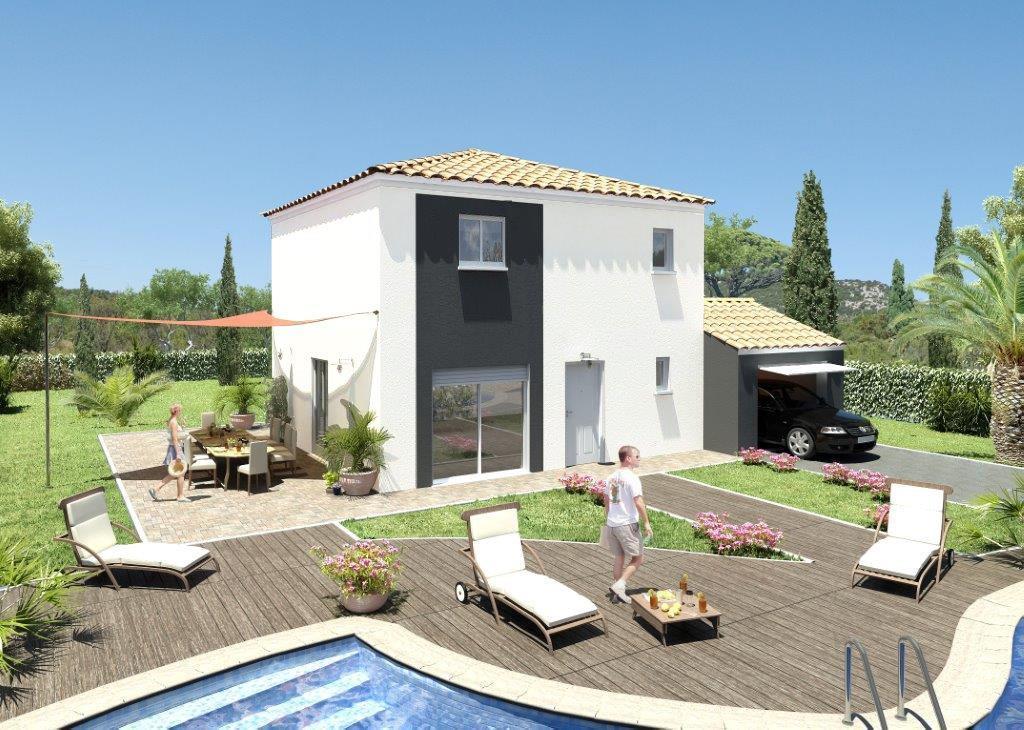 Maisons + Terrains du constructeur MAISONS GUITARD • 100 m² • BEAULIEU