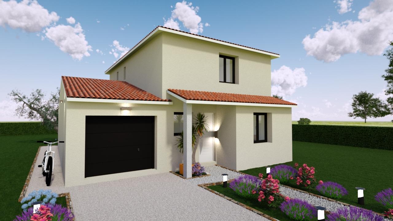 Maisons + Terrains du constructeur MAISONS GUITARD • 100 m² • SAINT JEAN DE VEDAS