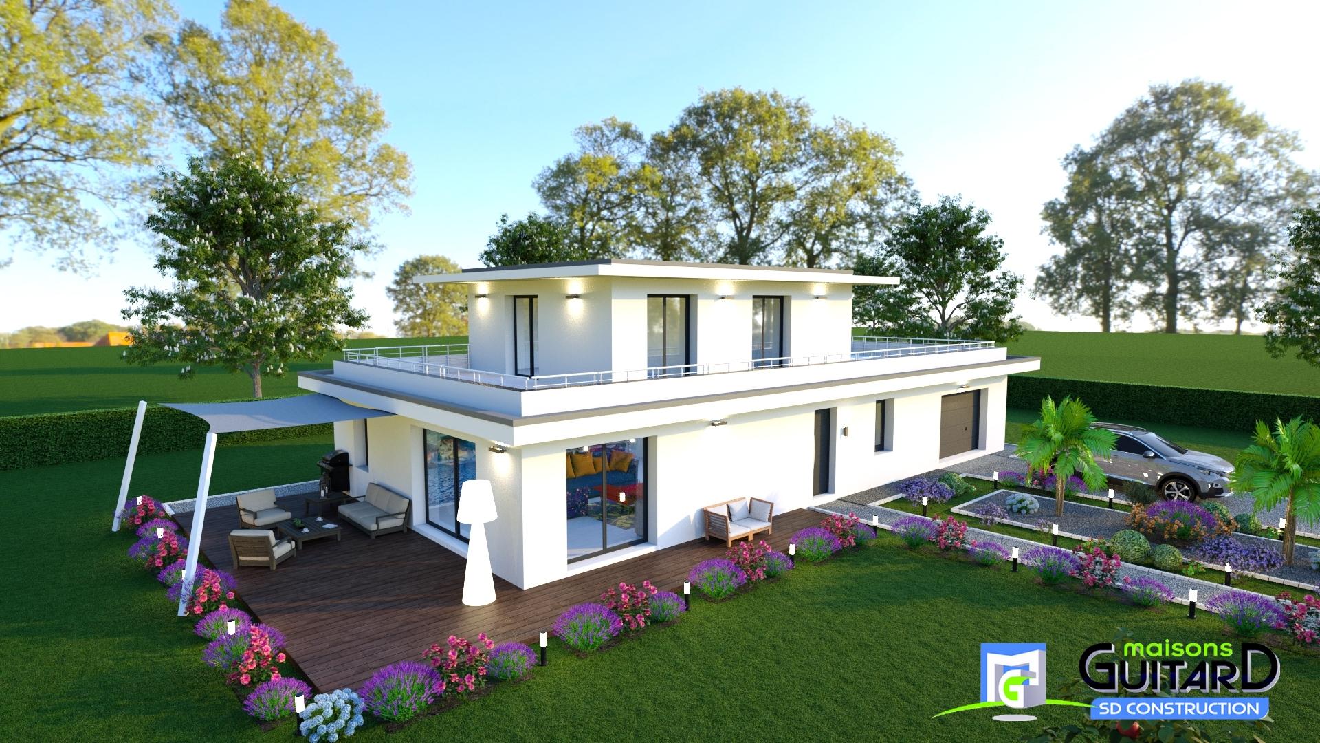 Maisons + Terrains du constructeur MAISONS GUITARD • 140 m² • SETE