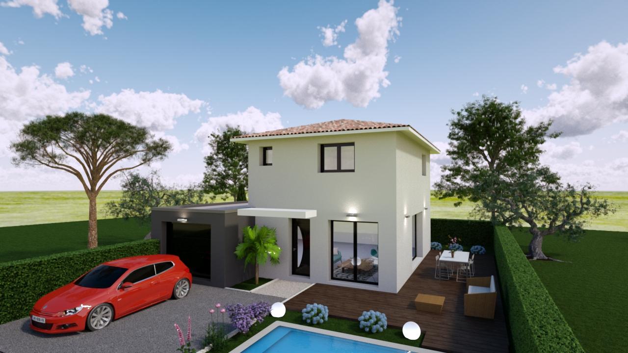 Maisons + Terrains du constructeur MAISONS GUITARD • 90 m² • CLERMONT L'HERAULT