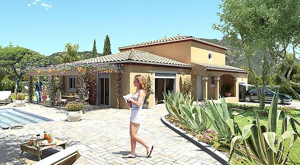 Maisons + Terrains du constructeur MAISONS GUITARD • 100 m² • PAULHAN