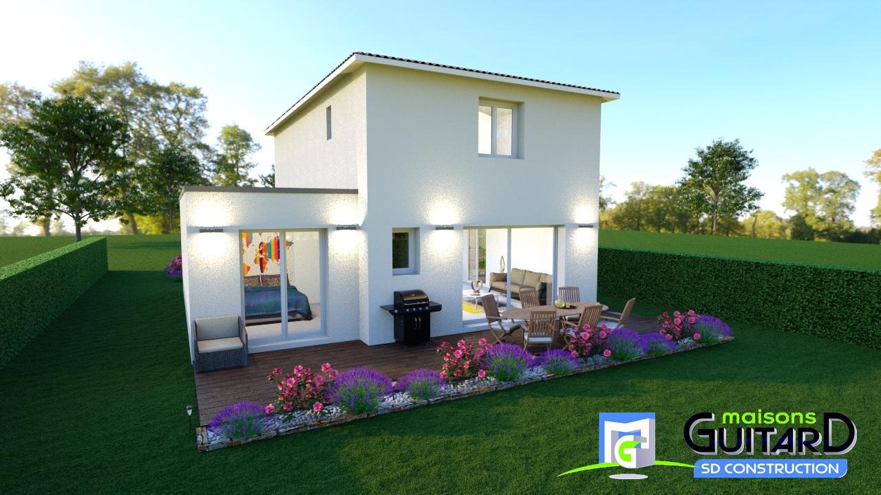 Maisons + Terrains du constructeur MAISONS GUITARD • 100 m² • RESTINCLIERES