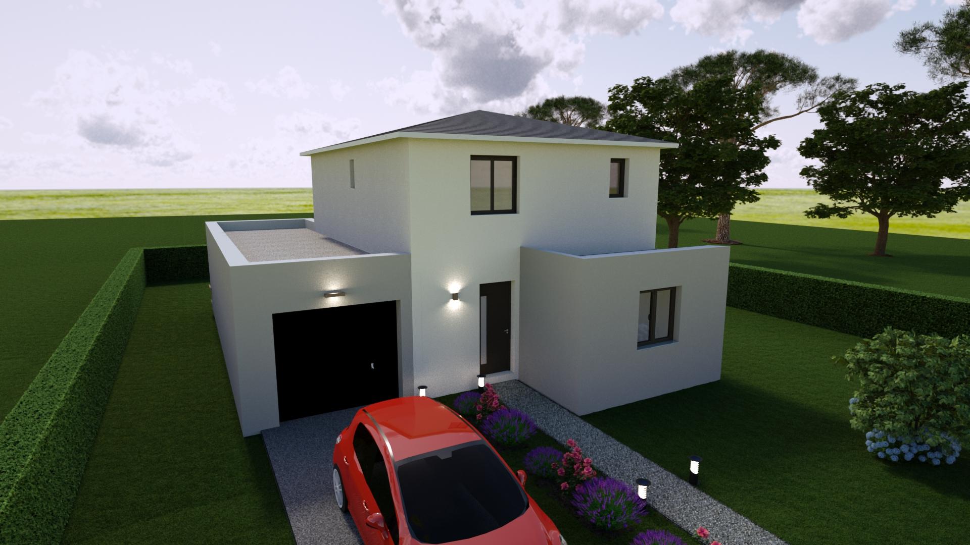Maisons + Terrains du constructeur MAISONS GUITARD • 90 m² • LATTES