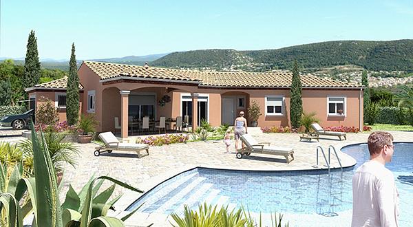Maisons + Terrains du constructeur MAISONS GUITARD • 100 m² • BALARUC LES BAINS