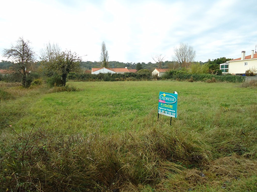 Terrains du constructeur L ADRESSE ST JEAN DE MONTS • 865 m² • SAINT JEAN DE MONTS